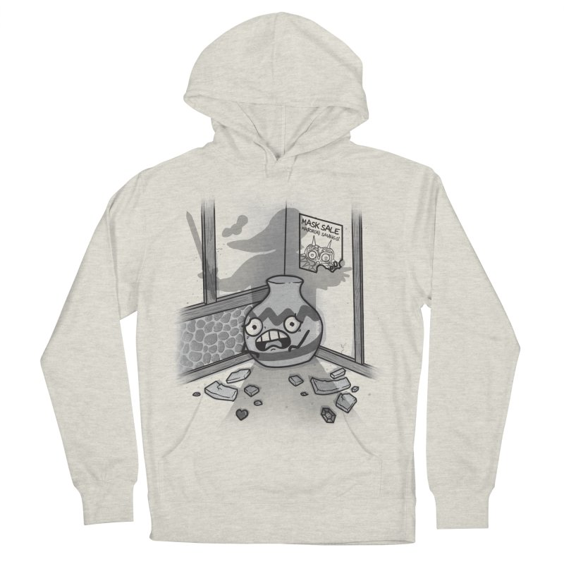 A Link To The Smash Men's French Terry Pullover Hoody by Made With Awesome