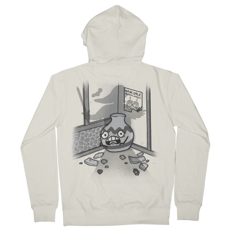 A Link To The Smash Men's French Terry Zip-Up Hoody by Made With Awesome