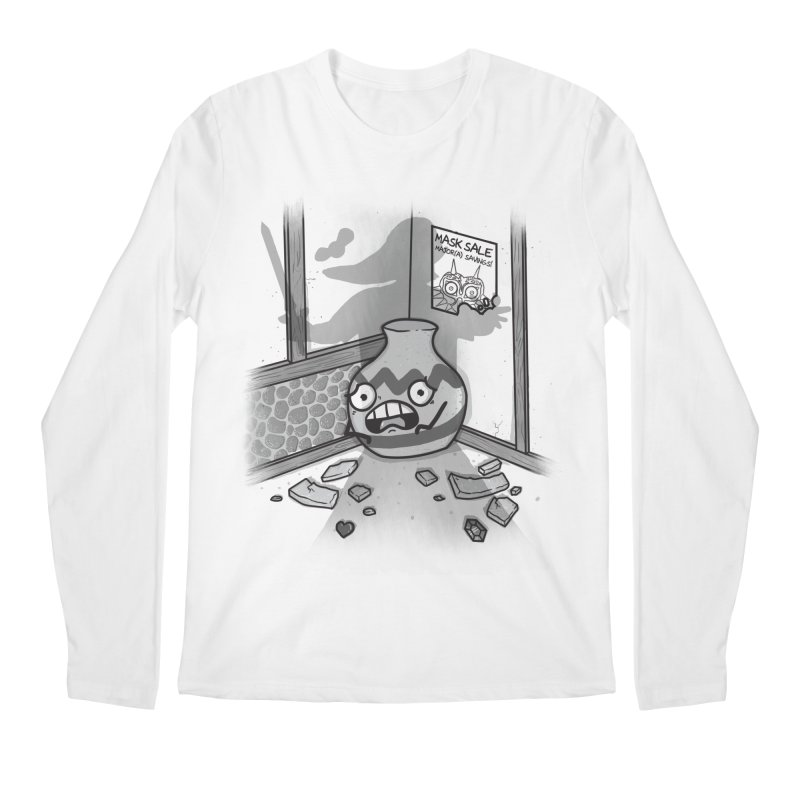 A Link To The Smash Men's Regular Longsleeve T-Shirt by Made With Awesome