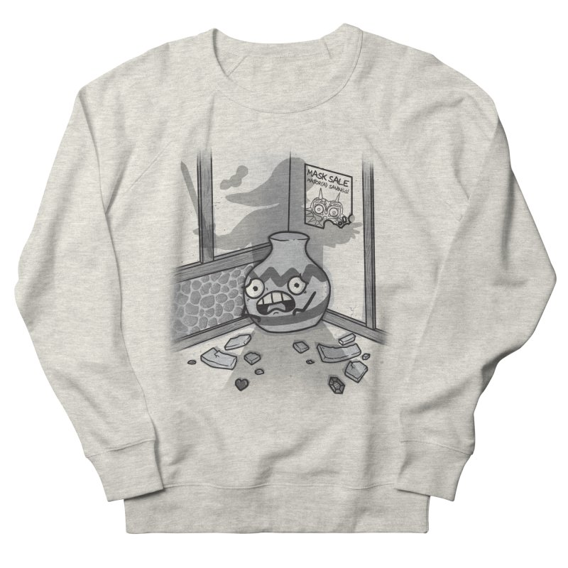 A Link To The Smash Men's French Terry Sweatshirt by Made With Awesome