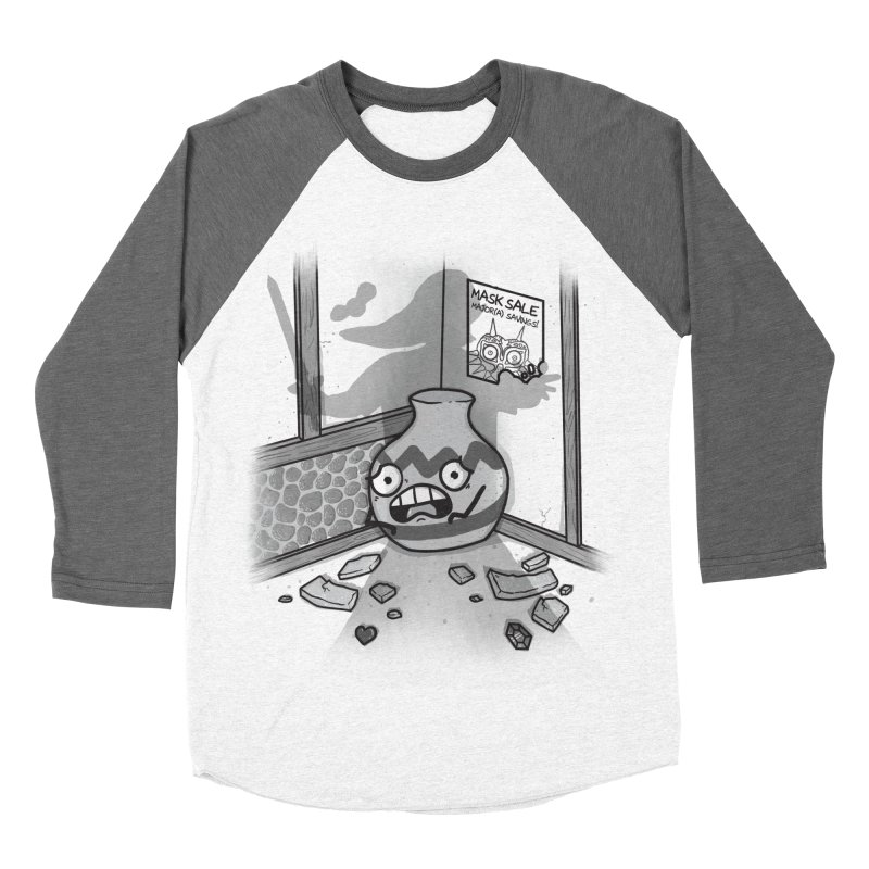 A Link To The Smash Women's Baseball Triblend Longsleeve T-Shirt by Made With Awesome