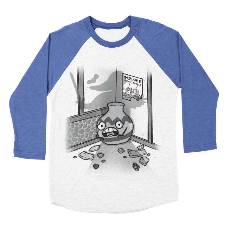 A Link To The Smash Men's Baseball Triblend Longsleeve T-Shirt by Made With Awesome