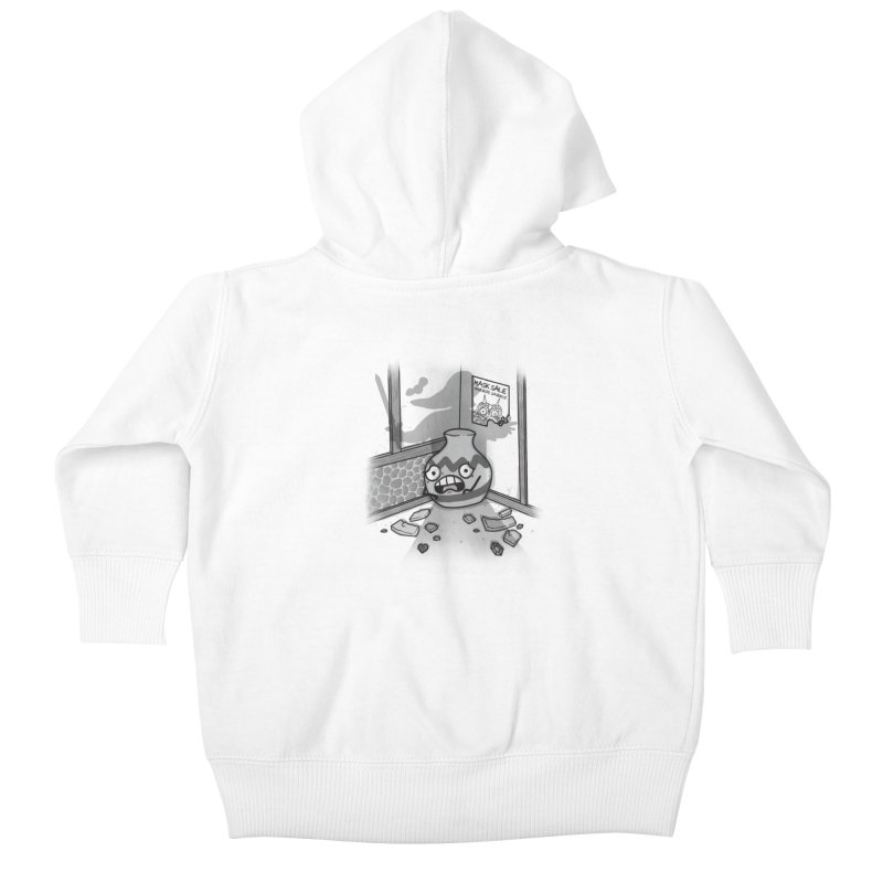 A Link To The Smash Kids Baby Zip-Up Hoody by Made With Awesome