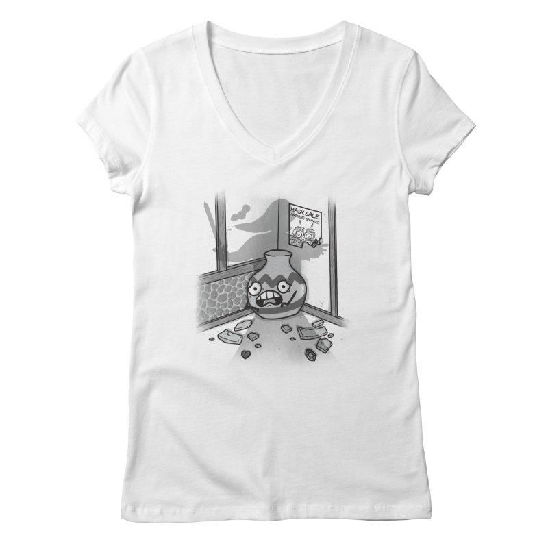A Link To The Smash Women's Regular V-Neck by Made With Awesome
