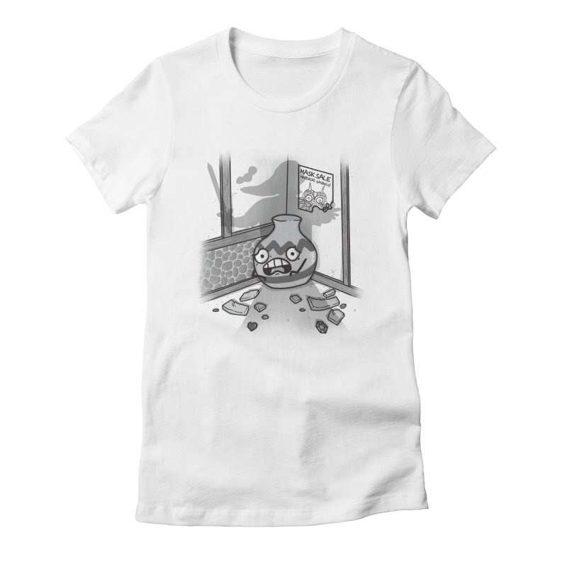A Link To The Smash Women's Fitted T-Shirt by Made With Awesome