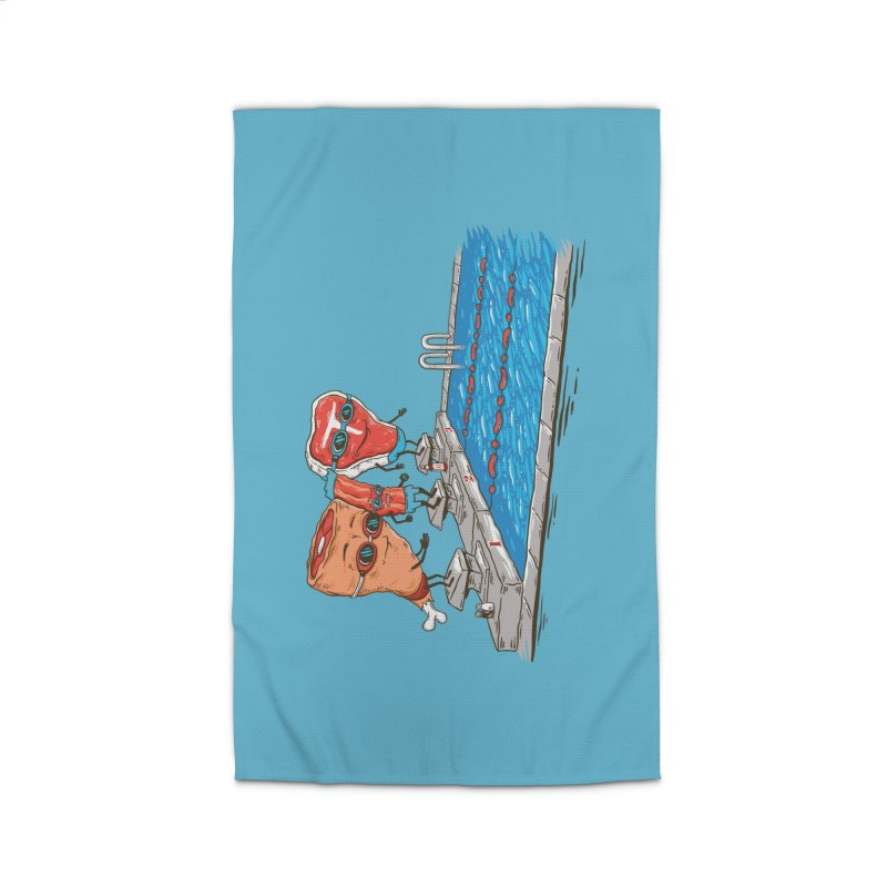 Swim Meat Home Rug by Made With Awesome