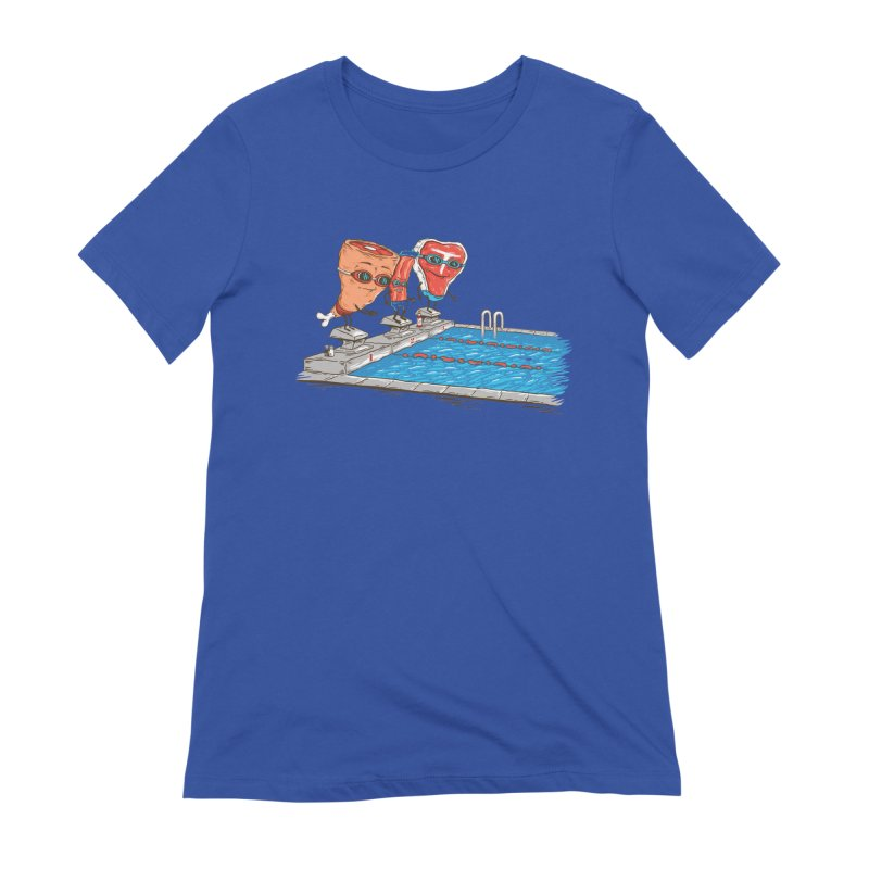 Swim Meat Women's T-Shirt by Made With Awesome