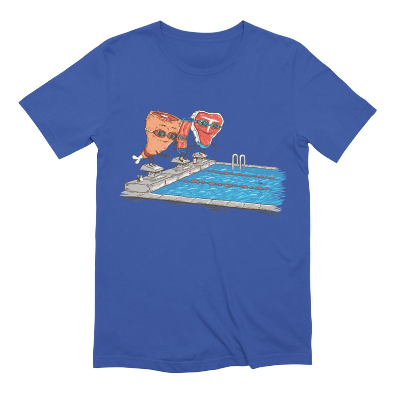 Swim Meat Men's Extra Soft T-Shirt by Made With Awesome