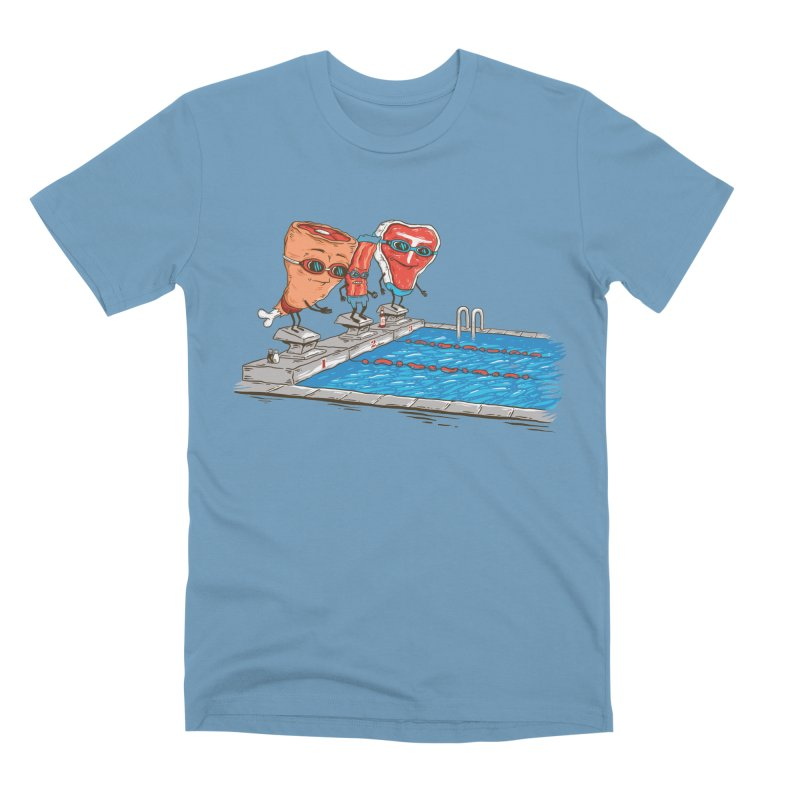 Swim Meat Men's Premium T-Shirt by Made With Awesome