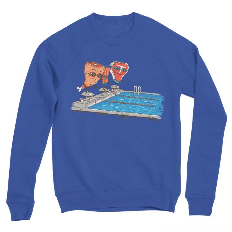 Swim Meat Men's Sponge Fleece Sweatshirt by Made With Awesome