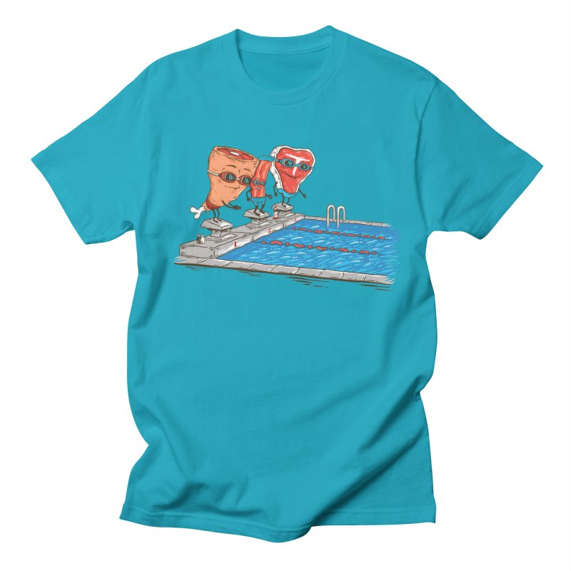 Swim Meat Women's Regular Unisex T-Shirt by Made With Awesome