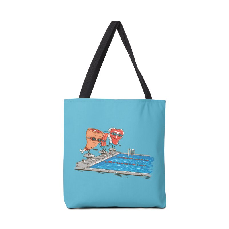 Swim Meat Accessories Bag by Made With Awesome