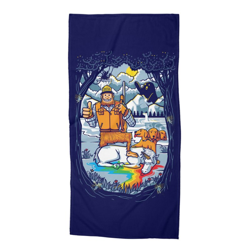 Unicorn Season Accessories Beach Towel by Made With Awesome