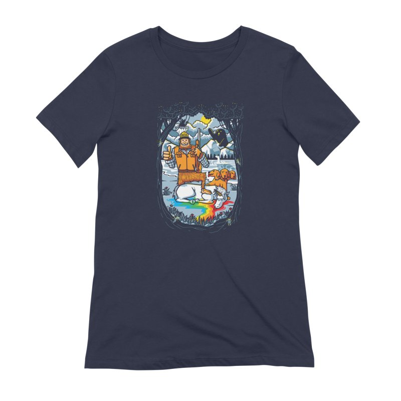 Unicorn Season Women's T-Shirt by Made With Awesome