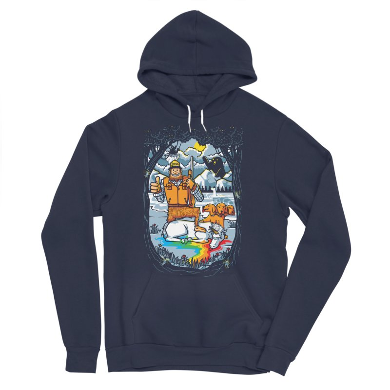 Unicorn Season Men's Pullover Hoody by Made With Awesome