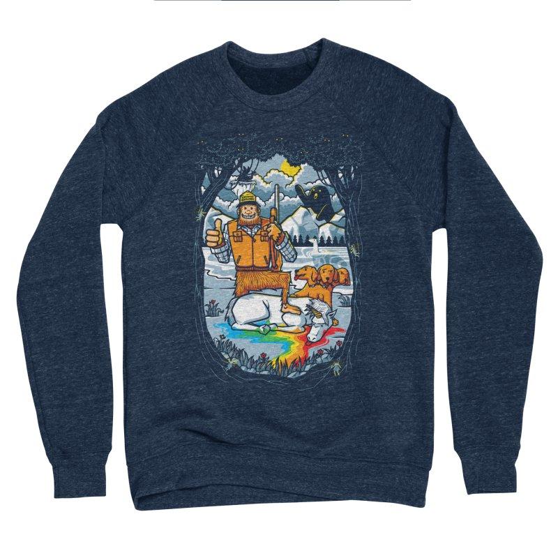 Unicorn Season Men's Sponge Fleece Sweatshirt by Made With Awesome