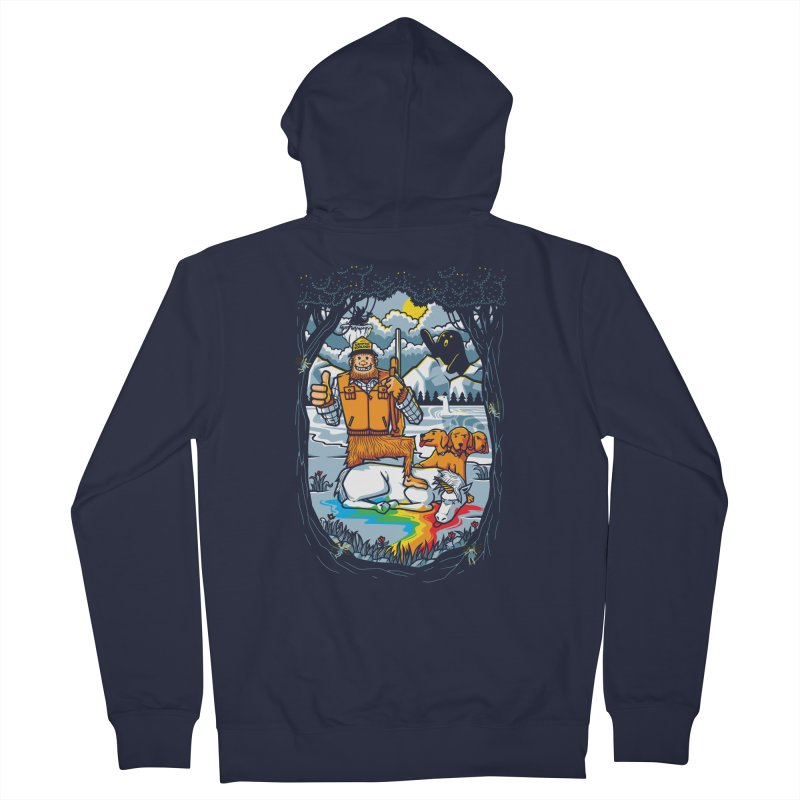Unicorn Season Women's Zip-Up Hoody by Made With Awesome