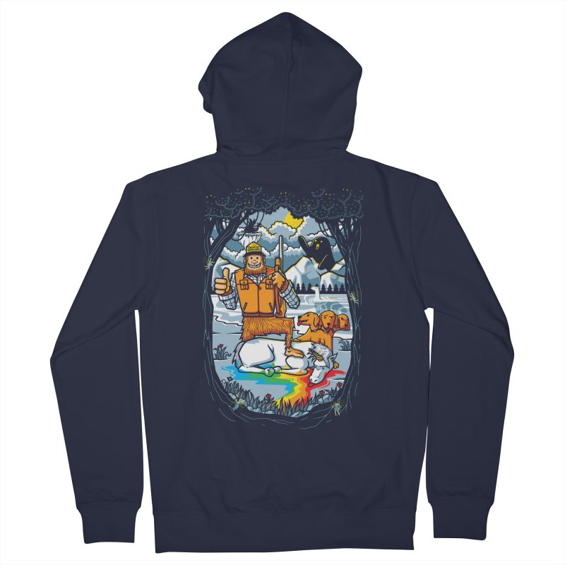 Unicorn Season Men's French Terry Zip-Up Hoody by Made With Awesome
