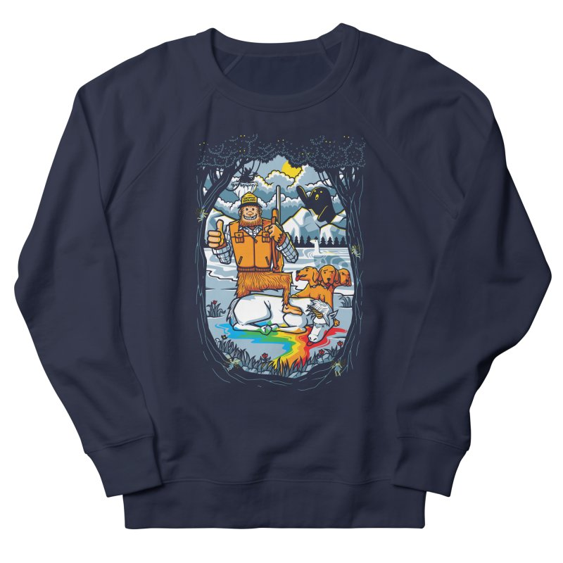 Unicorn Season Men's French Terry Sweatshirt by Made With Awesome