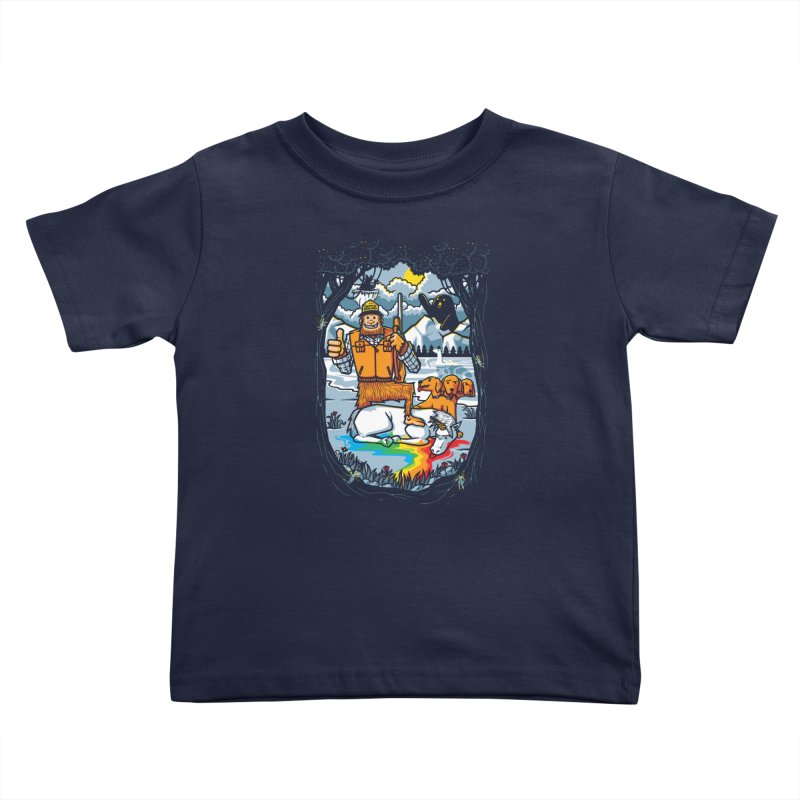 Unicorn Season Kids Toddler T-Shirt by Made With Awesome
