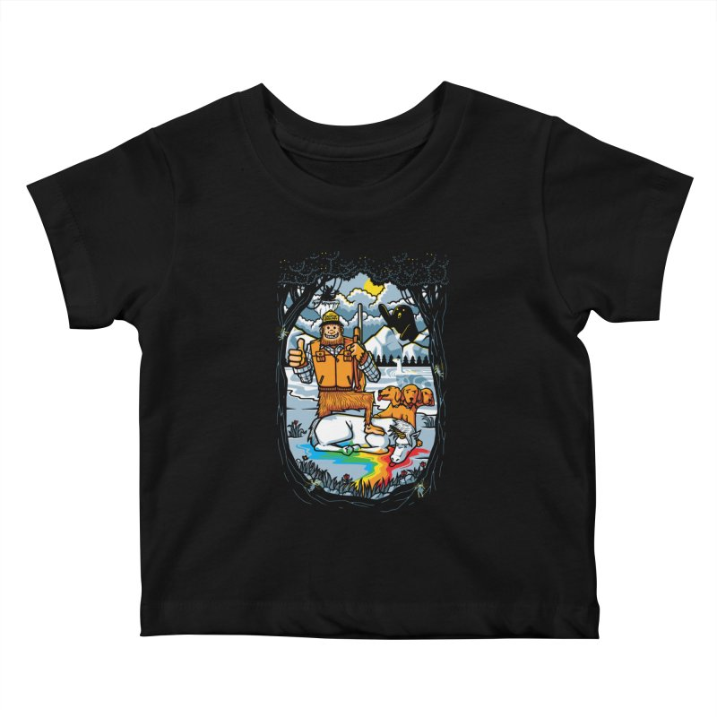 Unicorn Season Kids Baby T-Shirt by Made With Awesome