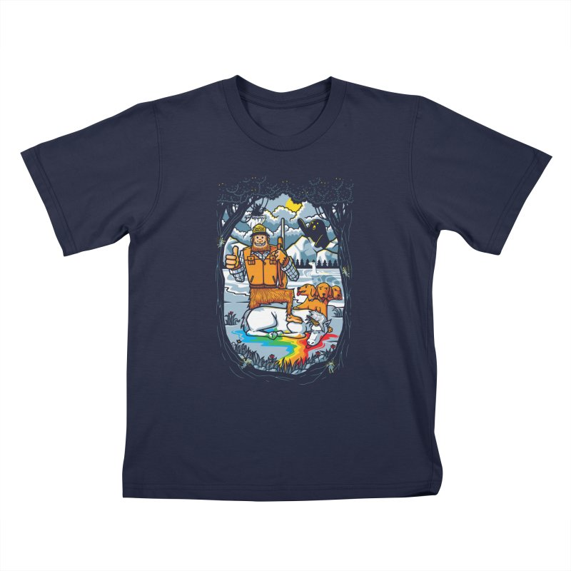 Unicorn Season Kids T-Shirt by Made With Awesome
