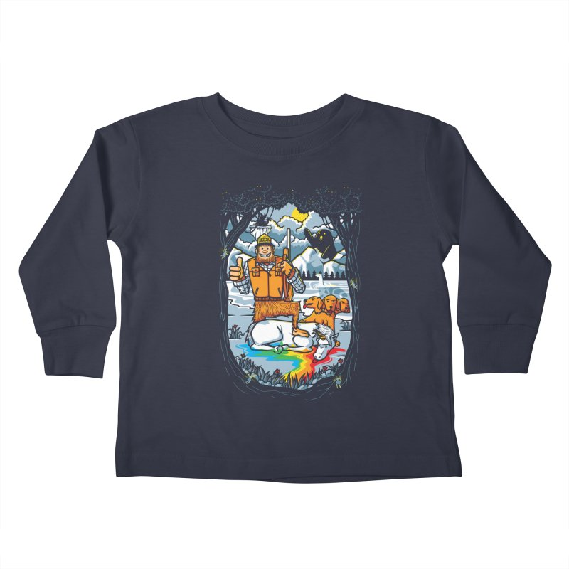 Unicorn Season Kids Toddler Longsleeve T-Shirt by Made With Awesome