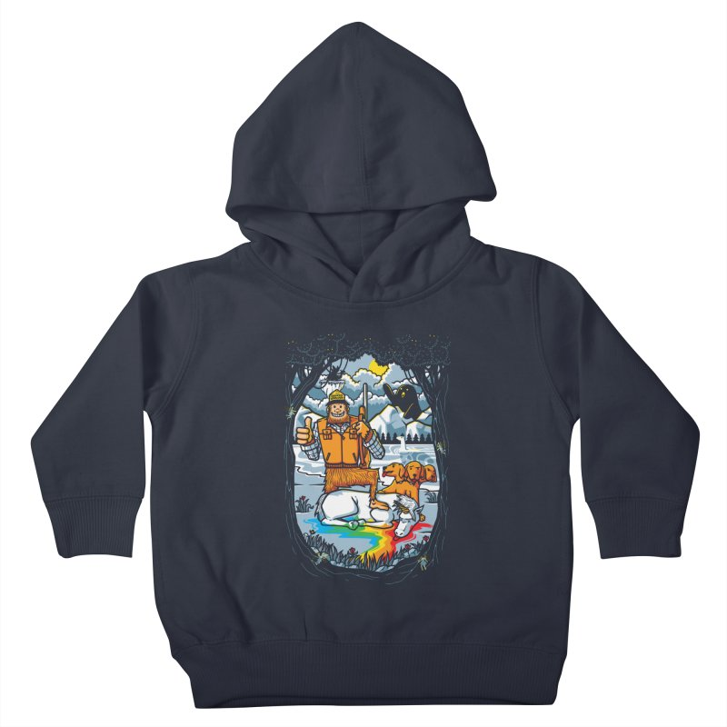 Unicorn Season Kids Toddler Pullover Hoody by Made With Awesome