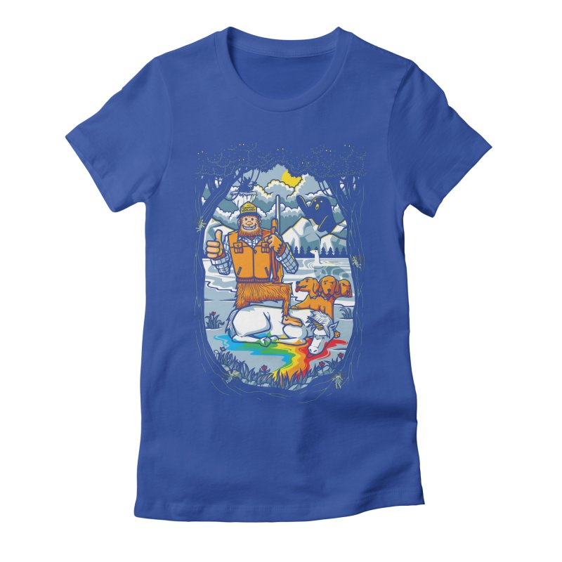Unicorn Season Women's Fitted T-Shirt by Made With Awesome