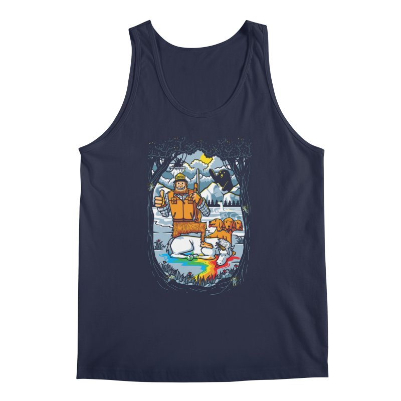 Unicorn Season Men's Regular Tank by Made With Awesome