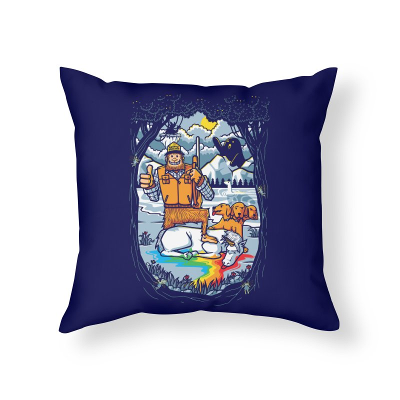 Unicorn Season Home Throw Pillow by Made With Awesome