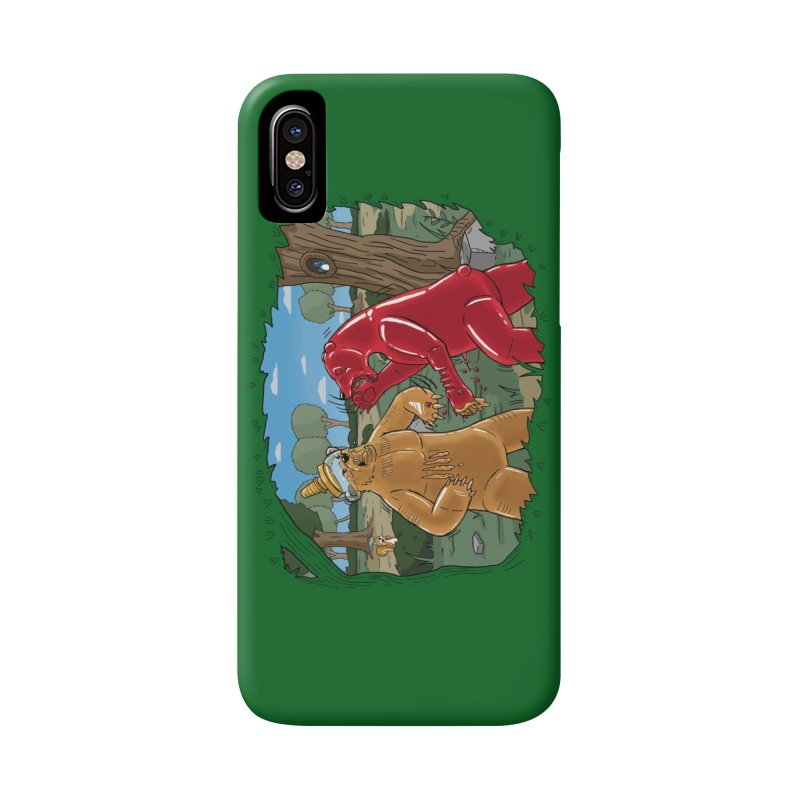 Honey vs Gummy Accessories Phone Case by Made With Awesome