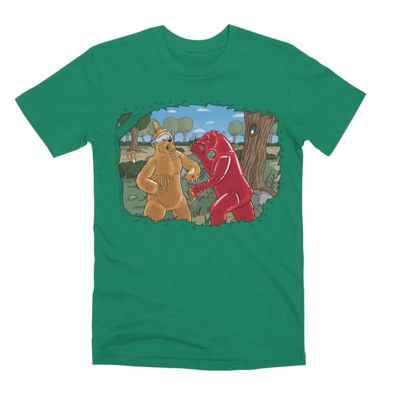 Honey vs Gummy Men's T-Shirt by Made With Awesome