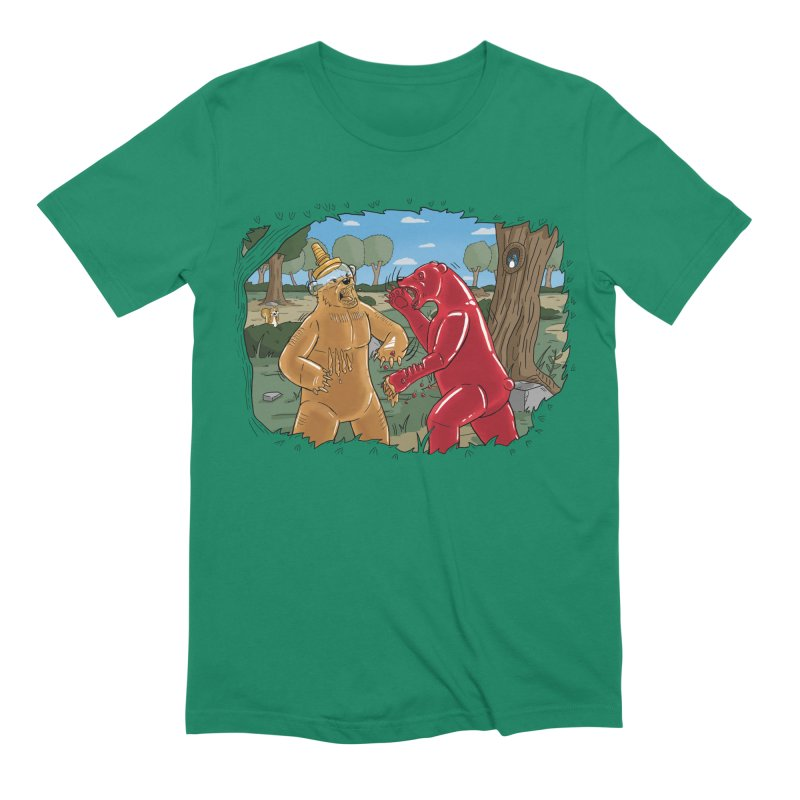 Honey vs Gummy Men's Extra Soft T-Shirt by Made With Awesome
