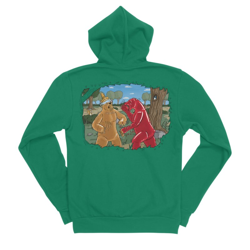 Honey vs Gummy Women's Zip-Up Hoody by Made With Awesome