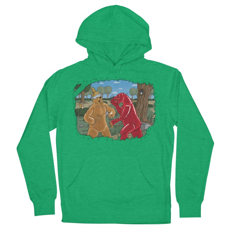 Honey vs Gummy Men's French Terry Pullover Hoody by Made With Awesome