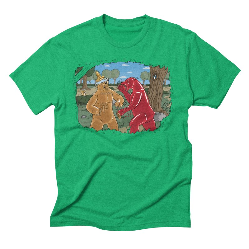 Honey vs Gummy Men's Triblend T-Shirt by Made With Awesome