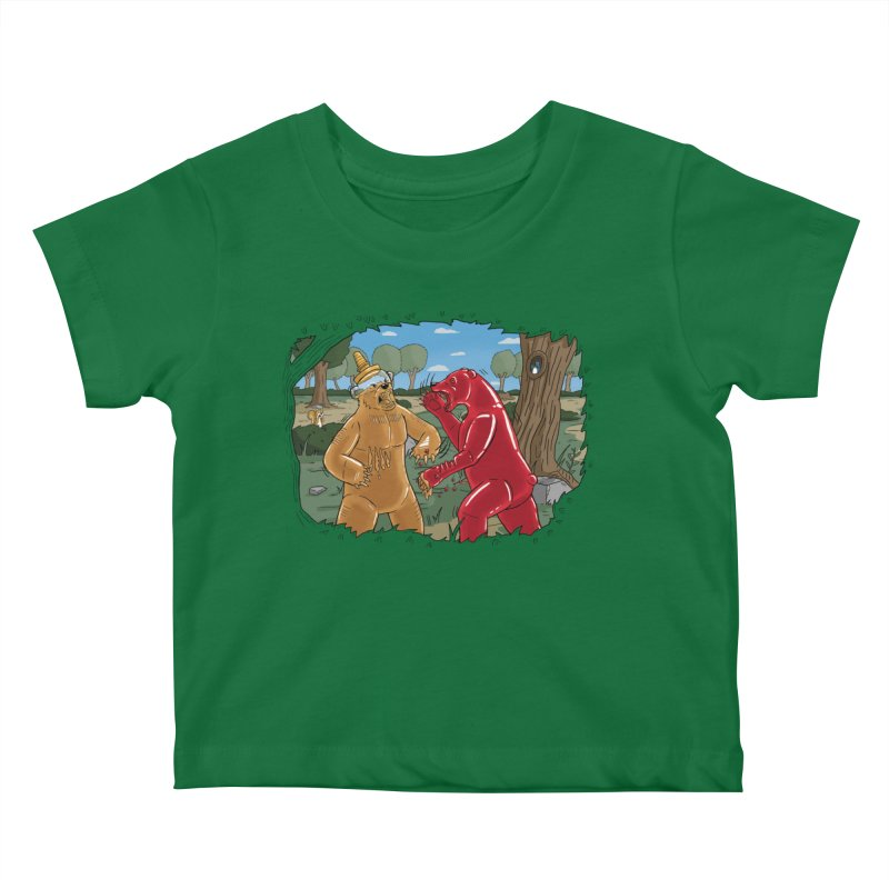 Honey vs Gummy Kids Baby T-Shirt by Made With Awesome