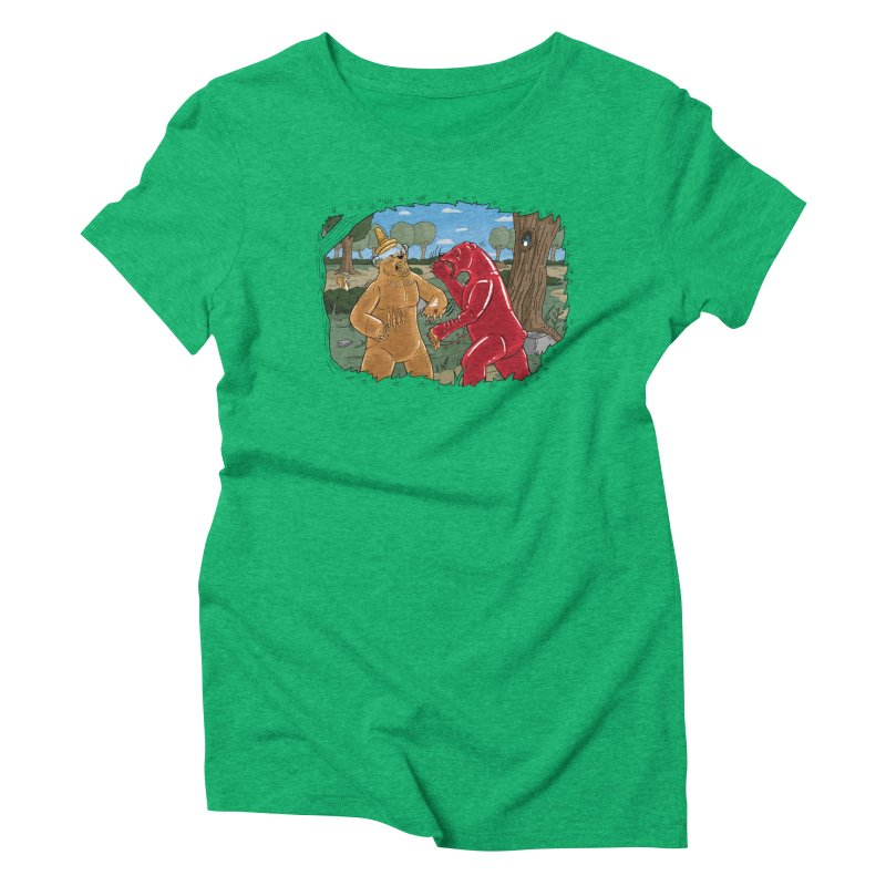 Honey vs Gummy Women's Triblend T-Shirt by Made With Awesome