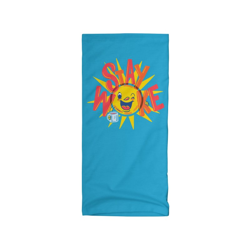 Stay Woke Accessories Neck Gaiter by Made With Awesome