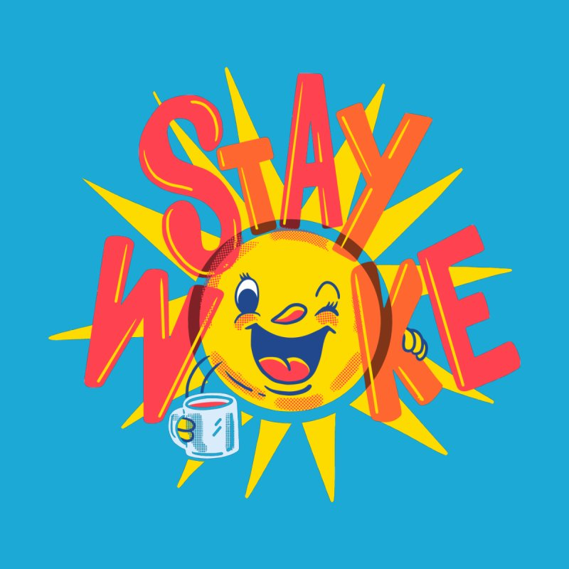 Stay Woke Kids Longsleeve T-Shirt by Made With Awesome