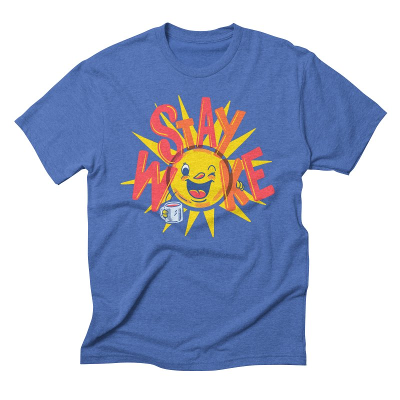 Stay Woke Men's T-Shirt by Made With Awesome