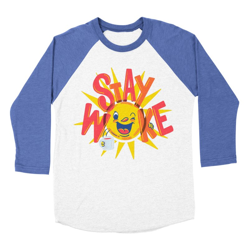 Stay Woke Men's Longsleeve T-Shirt by Made With Awesome