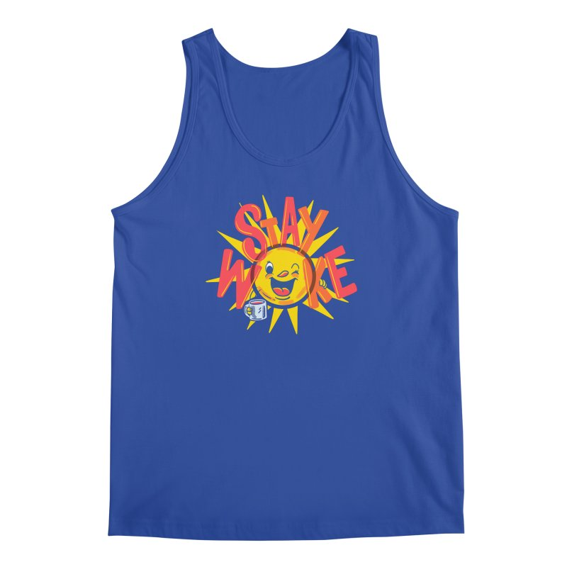 Stay Woke Men's Regular Tank by Made With Awesome