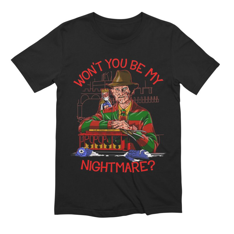 Nightmare Neighborhood Men's Extra Soft T-Shirt by Made With Awesome