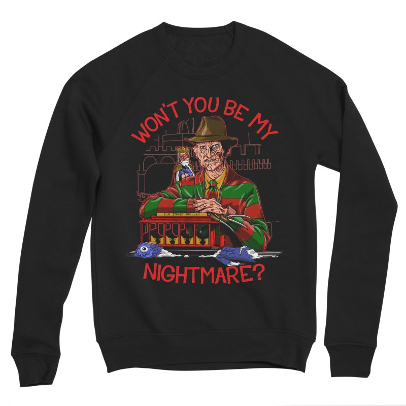 Nightmare Neighborhood Men's Sponge Fleece Sweatshirt by Made With Awesome