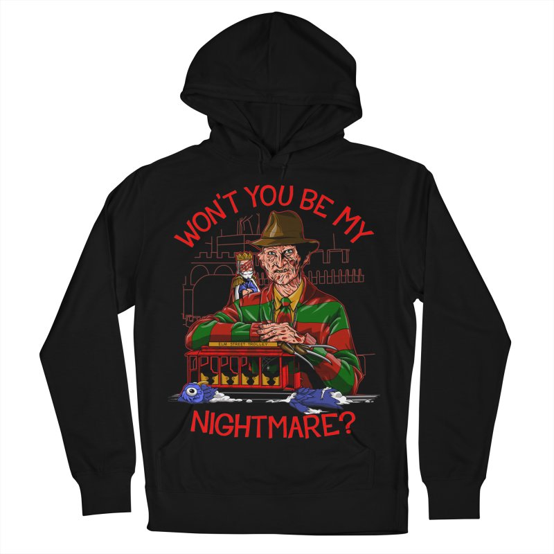 Nightmare Neighborhood Women's French Terry Pullover Hoody by Made With Awesome