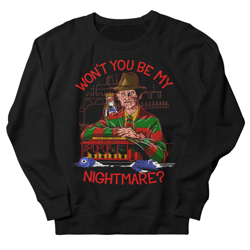 Nightmare Neighborhood Women's French Terry Sweatshirt by Made With Awesome