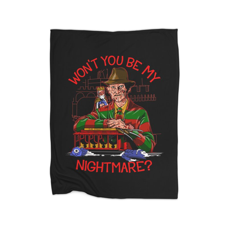 Nightmare Neighborhood Home Blanket by Made With Awesome