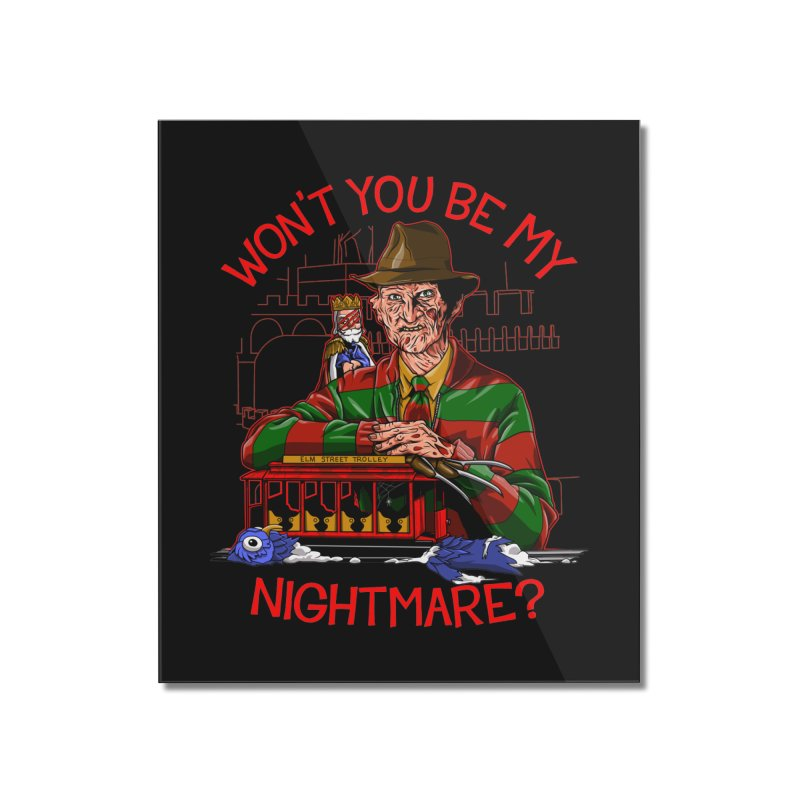 Nightmare Neighborhood Home Mounted Acrylic Print by Made With Awesome